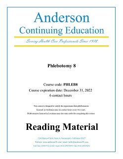 Phlebotomy Continuing Education Courses and CEUs